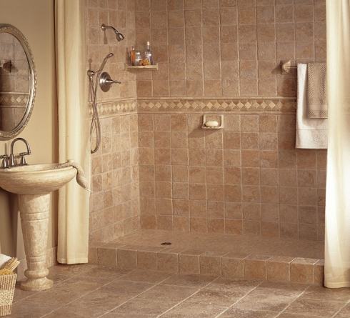tile shower estimate, Castle Rock CO